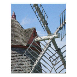 Eastham Windmill Poster