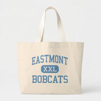 Eastmont - linces - joven - Wenatchee del este Bolsa Tela Grande