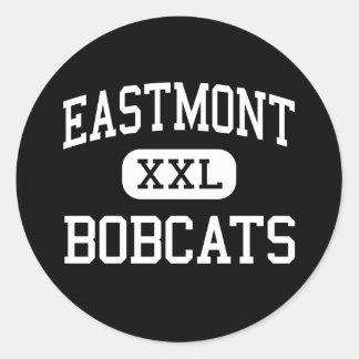 Eastmont - linces - joven - Wenatchee del este Pegatina Redonda