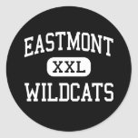 Eastmont - Wildcats - High - East Wenatchee Classic Round Sticker