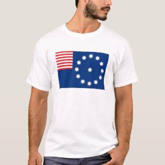 Easton city flag state america Pennsylvania T-Shirt