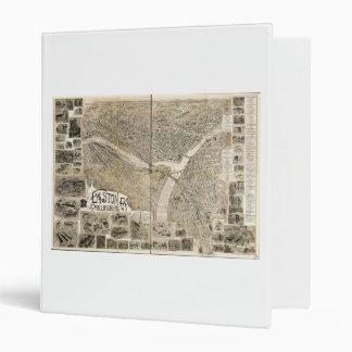 Easton Pennsylvania & Phillipsburg New Jersey 1900 3 Ring Binder