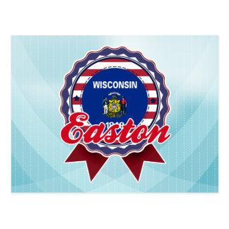 Easton, WI Tarjeta Postal