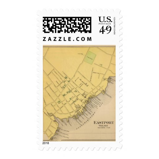 Eastport Village Postage Stamp
