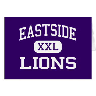 Eastside - Lions - High - Lancaster California Greeting Cards