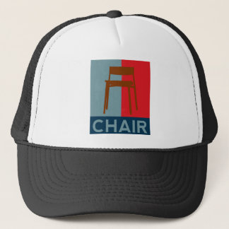 Eastwood, chair, nothing more needs to be said trucker hat