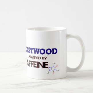 Eastwood powered by caffeine coffee mug