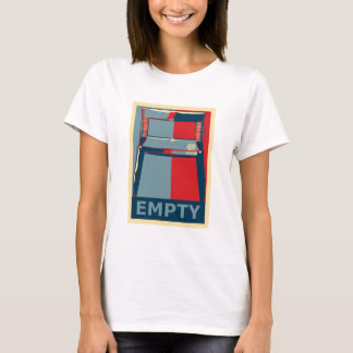 Eastwooding Chair Invisible Obama PoliticalSatire T-Shirt