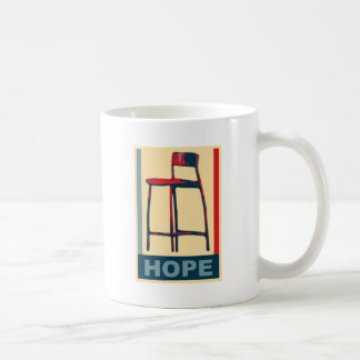 Eastwooding Invisible Chair of Hope Classic White Coffee Mug