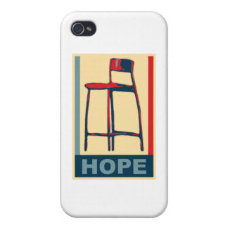 Eastwooding Invisible Chair of Hope iPhone 4 Case
