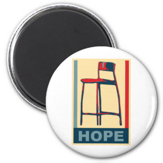 Eastwooding Invisible Chair of Hope Fridge Magnets