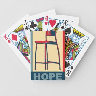 Eastwooding Invisible Chair of Hope Bicycle Card Deck