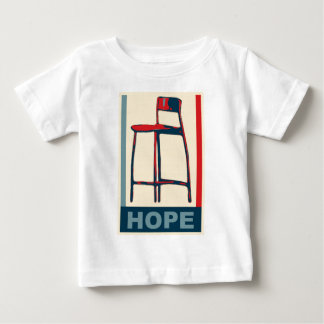 Eastwooding Invisible Obama Chair of Hope Baby T-Shirt