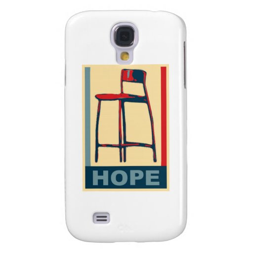 Eastwooding Invisible Obama Chair of Hope Samsung Galaxy S4 Cover
