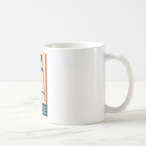 Eastwooding Invisible Obama Chair of Hope Coffee Mug