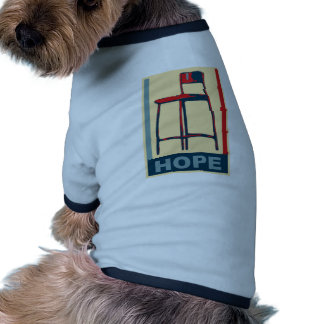 Eastwooding Invisible Obama Chair of Hope Pet Tee