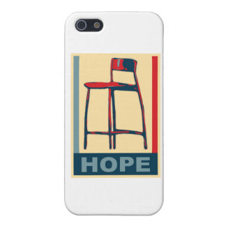 Eastwooding Invisible Obama Chair of Hope iPhone 5 Covers