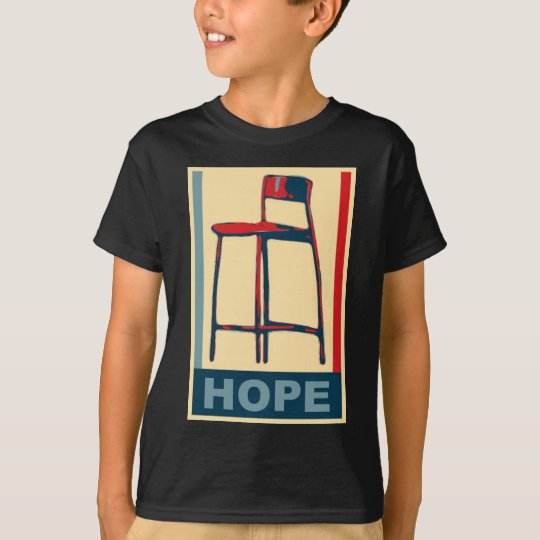 Eastwooding Invisible Obama Chair of Hope T-Shirt