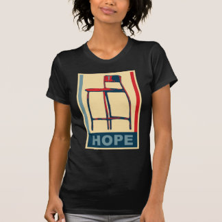Eastwooding Invisible Obama Chair of Hope Tees