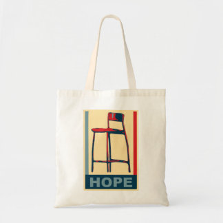 Eastwooding Invisible Obama Chair of Hope Tote Bag