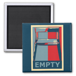 Eastwooding the Obama Chair Funny Political Refrigerator Magnets