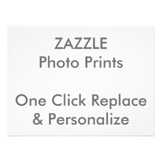 "Easy ""1 Click Replace & Personalize"" Photo Print"