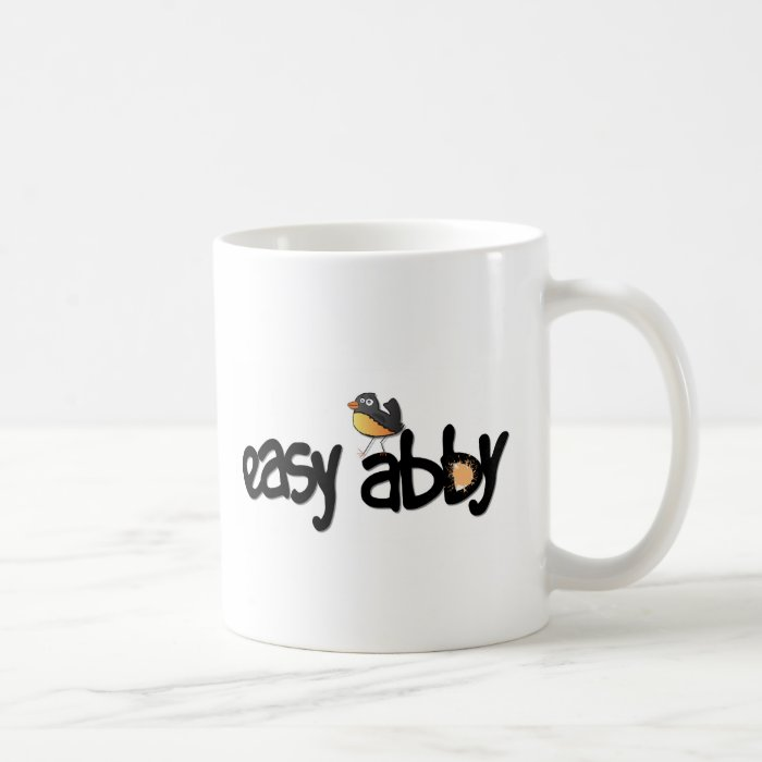 Easy Abby TV: White Coffee Mug
