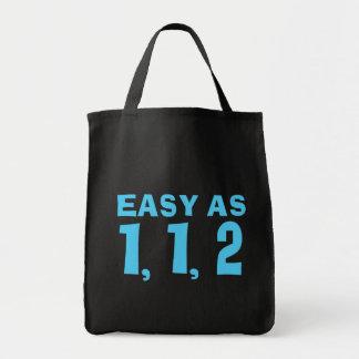 Easy as 1,1,2.... Fibonacci Tote Bag
