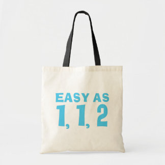 Easy as 1,1,2.... Fibonacci Tote Bag
