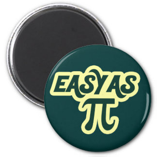 Easy as Pi Day Magnet
