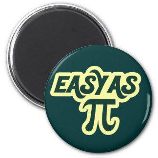 Easy as Pi Day Refrigerator Magnet