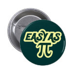 Easy as Pi Day Pinback Buttons