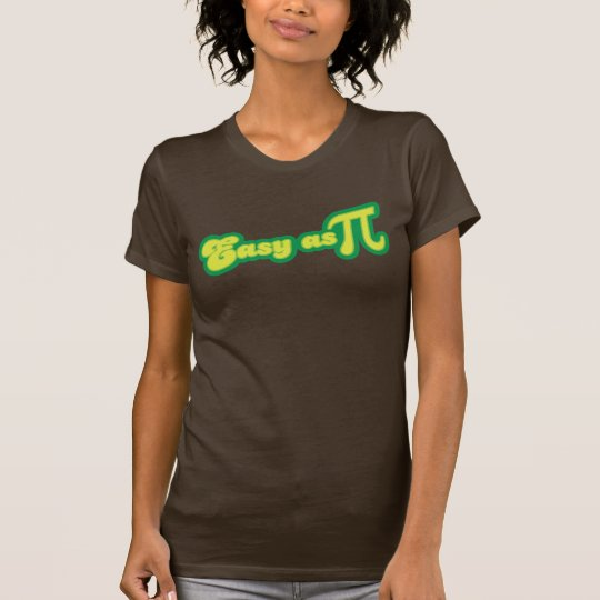 Easy as Pi (green) T-Shirt