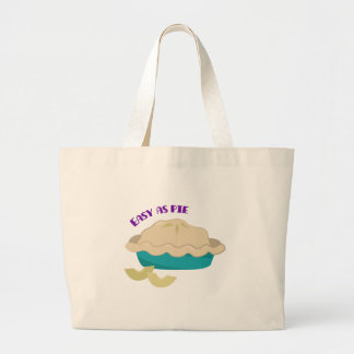Easy As Pie Canvas Bags