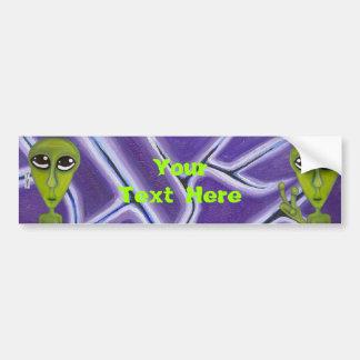 Easy Bein Green Bumper Sticker