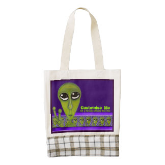 Easy Bein Green Zazzle HEART Tote Bag
