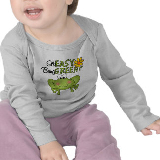 Easy Being Green Frog T-shirts