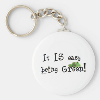 Easy being Green Keychain
