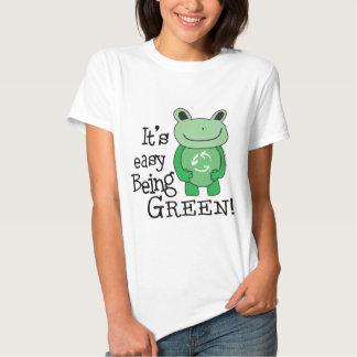 Easy Being Green Tees