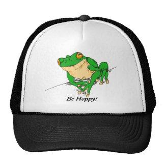 Easy Being Green Trucker Hat
