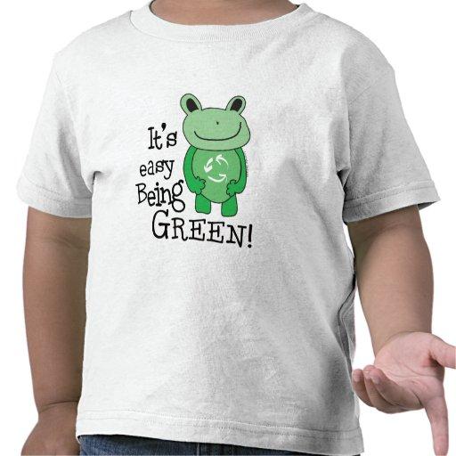 Easy Being Green Tshirt