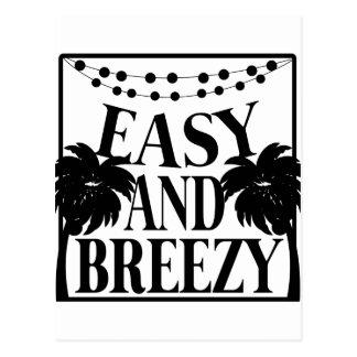 Easy Breezy Postcard