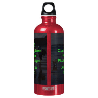 Easy Click & Replace Image to Create Your Own Aluminum Water Bottle