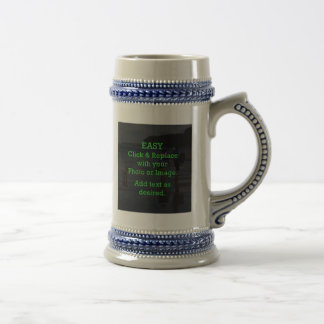 Easy Click & Replace Image to Create Your Own Beer Stein