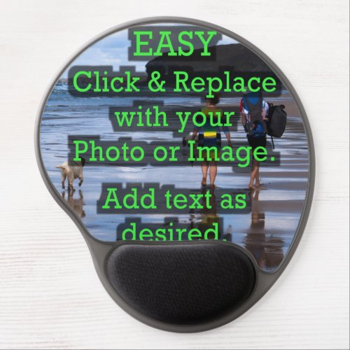 Easy Click  Replace Image to Create Your Own Gel Mouse Pad