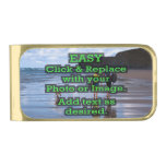 Easy Click & Replace Image to Create Your Own Gold Finish Money Clip