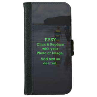 Easy Click & Replace Image to Create Your Own iPhone 6/6s Wallet Case