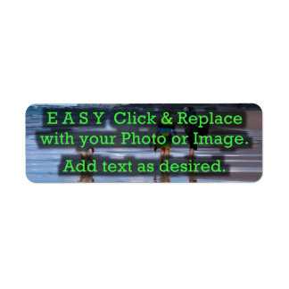 Easy Click & Replace Image to Create Your Own Label
