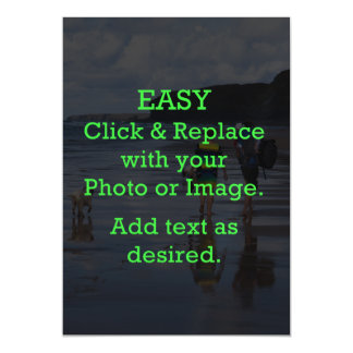 Easy Click & Replace Image to Create Your Own Magnetic Card