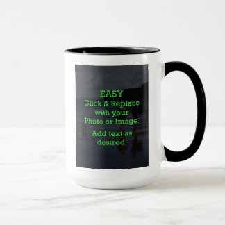 Easy Click & Replace Image to Create Your Own Mug